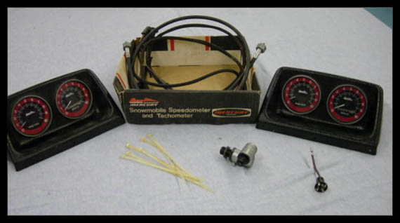 Old Mercury Speedometer/Tachometer Kits